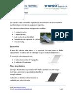 Descripción Técnica Paneles Solares Térmicos