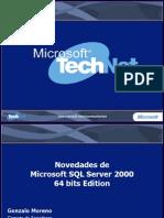 Nov SQL 2000 64bits