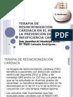 TERAPIA DE RESINCRONIZACIÓN CARDIACA EN EL MANEJO Y2
