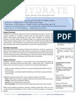 ReHydrate Exec Summary - 6pg
