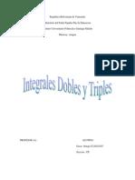 Integrales Dobles y Triples