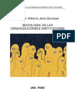 Sociologia de Las Organizaciones Para Imprimir