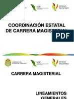 Lineamientos Carrera Magisterial.
