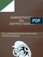Administración d. f.
