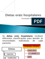Dietas orais hospitalares aula nutriçao fernanda