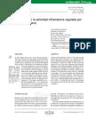 Alteracion de La Actividad Inflamatoria Regulada Por Th1 Th2