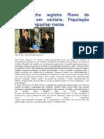 Beto Richa registra Plano de Governo em cartório