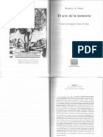 Yates, Frances a-1., Las Tres Fuentes Latinas Del Arte Clsico de La Memoria