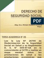 Derecho de Seguridad Social Unidad Vi