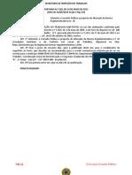 Consulta Pública - Alteração da NR 24