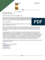 Coax Letter to Public Service Commission~ Re:Article 10 05-21-2012