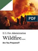FEMA Wildfires Aka Fa-287-508