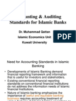 Accounting Standards for Islamic Banks