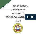 add math project work Kelantan 2/2012