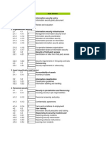 ISO 17799 - Checklist