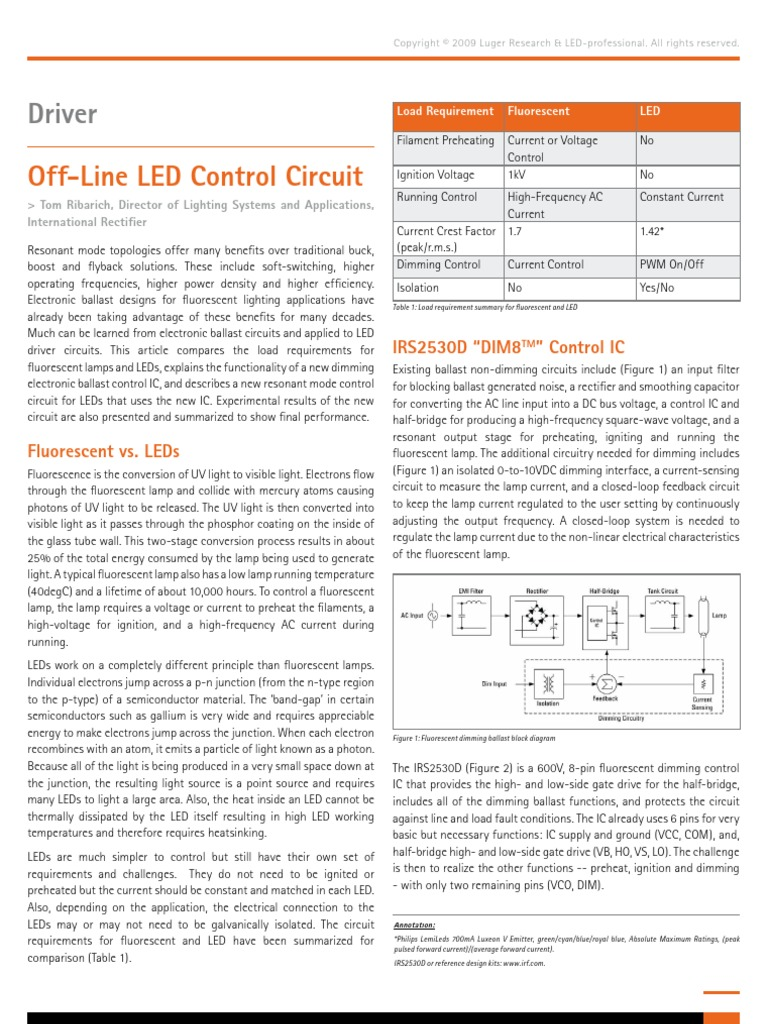 594ledp0902 Light Emitting Diode Electrical Network Circuit In Addition Led Further Rectifier