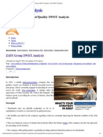 ZAIN Group SWOT Analysis _ Free SWOT Analysis