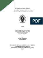 Reformasi Birokrasi tesis