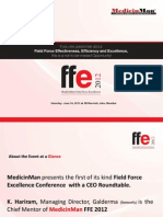 Pharma Field Force Excellence Conference 2012