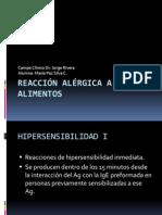 Reacción alérgica a alimentos M.P.S.C.