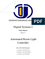 Automated Room Light Controller Rapor
