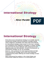 Chpt 5 International Strategy