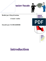 Fruades Et Evasion Fiscale Ppt Karima