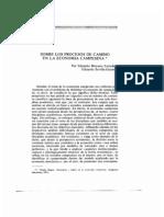 Estrada e Guzmán - Sobre los procesos de cambio en la economia campesina