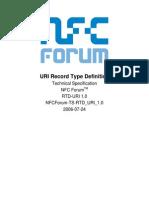 NFCForum-TS-RTD_URI_1.0