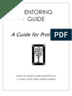 Mentoring Guide Proteges 12 10 04