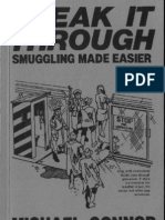 Sneak It Through - Smuggling Made Easier - Michael Connor - Paladin Press
