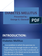 Diabetes Mellitus (Case Study)