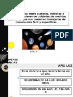 CLASE N°11 DISTANCIAS ASTRONÓMICAS