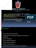 Fundamentos de La Educacion Ambiental