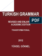 Turkish Grammar Revised and Enlarged Academic Edition Yuksel Goknel 2012 (3)