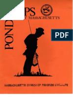 Maps Ponds Northeast Massachusetts