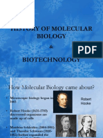 History of Molecular Biology