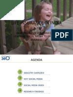 Social Media in Indian Life Insurance