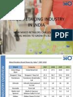 Socia Media in Mixed Retail Industry
