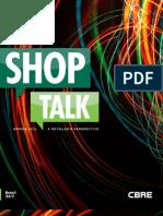 CBRE - Shop Talk 2012-05-24