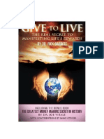 Give to Live by Joe Vitale