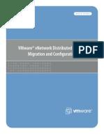 Vsphere Vnetwork Ds Migration Configuration Wp
