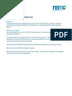 Steeple Analysis Template