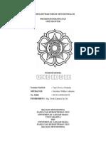 Formulir Praktikum Ortodonsia III