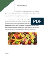 Rencana Bisnis Buah Segar Fresh Fruit