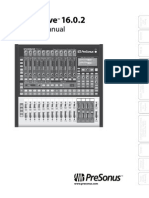 Presonus Studio Live 1602 Manual En