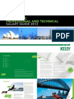 2012 Kelly APAC PT Salary Guide