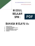 Modul SPM Bahasa Melayu