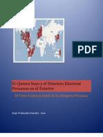 El Quinto Suyo y El Districto Electoral Peruanos en El Exterior