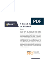 Flipkart Social Media Brand Audit March 2012